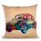 Wallpaper Car Throw Pillow By Mark Ashkenazi