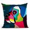 Boxer Throw Pillow By Mark Ashkenazi