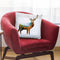 Deer I Throw Pillow By Mark Ashkenazi