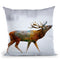 Deer Ii Throw Pillow By Mark Ashkenazi
