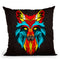 Fox Iii Throw Pillow By Mark Ashkenazi