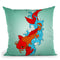 Koi Fish Iii Throw Pillow By Mark Ashkenazi