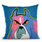 Angry Dog Throw Pillow By Mark Ashkenazi
