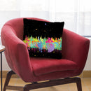 Abstrace C T Throw Pillow By Mark Ashkenazi