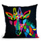 Giraffe Throw Pillow By Mark Ashkenazi