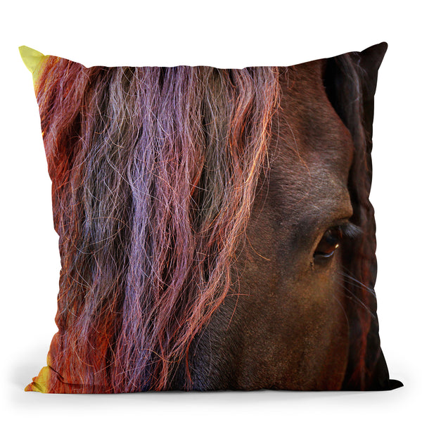 Abby Throw Pillow By Mark Ashkenazi