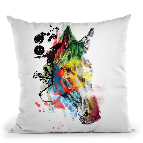 Beauty Throw Pillow By Mark Ashkenazi