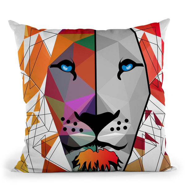 The King Throw Pillow By Mark Ashkenazi