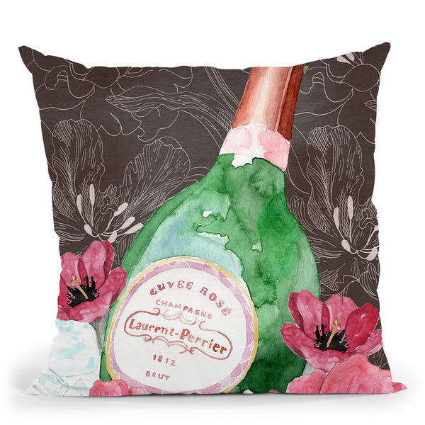 Lp Floral Throw Pillow By Mercedes Lopez Charro