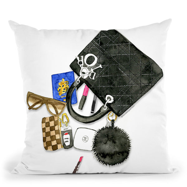 Bag Of Tricks Throw Pillow By Mercedes Lopez Charro