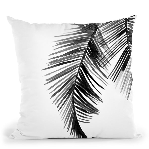 Palms Throw Pillow By Mercedes Lopez Charro