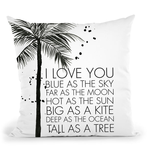 Tall As A Tree Throw Pillow By Mercedes Lopez Charro