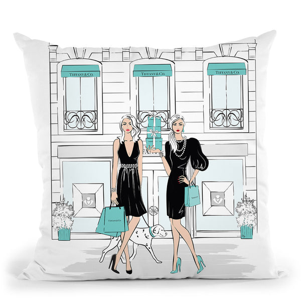 Watch Me Throw Pillow By Martina Pavlova