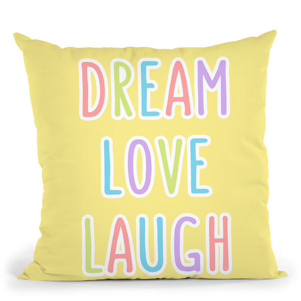 Dream Love Throw Pillow By Martina Pavlova