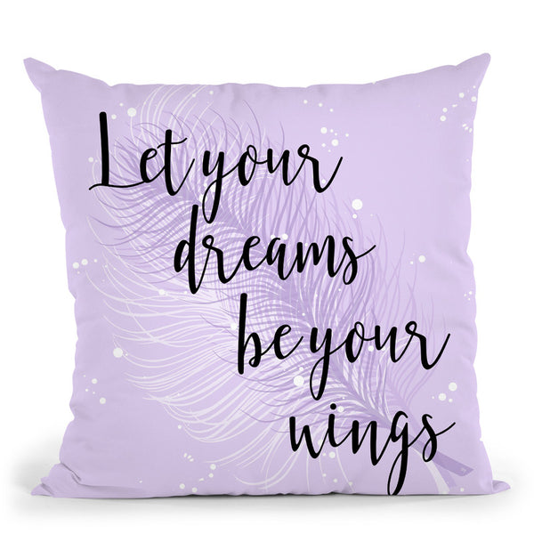 Dreams Throw Pillow By Martina Pavlova