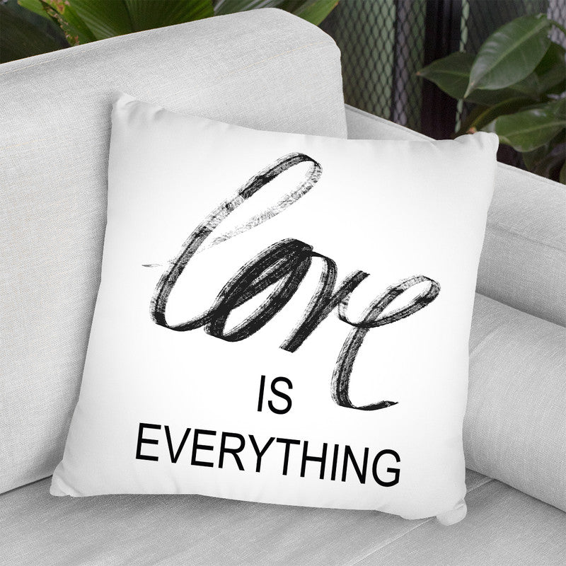 Love Is Everything Throw Pillow By Martina Pavlova