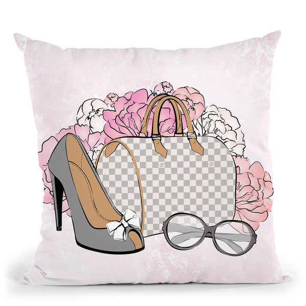 Beautiful Things I Throw Pillow By Martina Pavlova