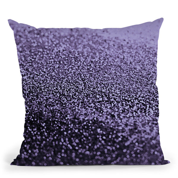 Gatsby Purple Night Throw Pillow By Monika Strigel