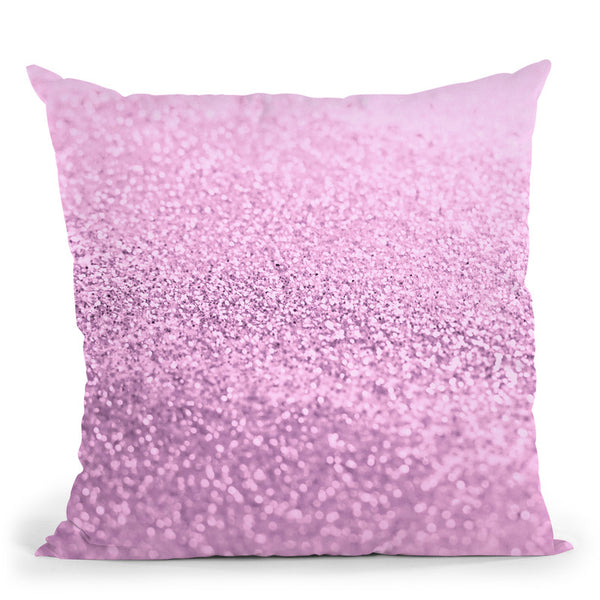 Gatsby Strawberry Pink Throw Pillow By Monika Strigel