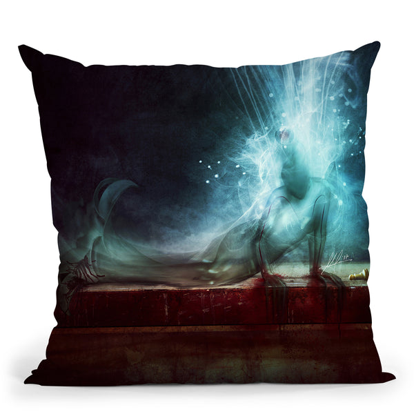 A Dying Wish Throw Pillow By Mario Sanchez