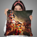 Comfortably Numb Throw Pillow By Mario Sanchez