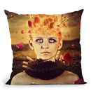 Emperor Of Nothing Throw Pillow By Mario Sanchez