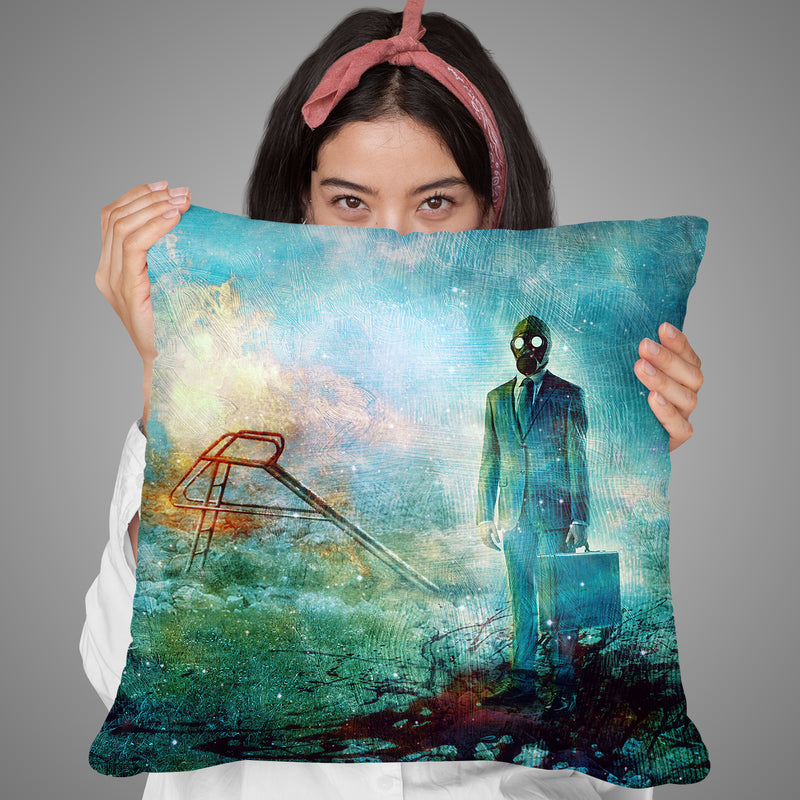Forgiveness Throw Pillow By Mario Sanchez