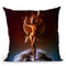 Grief Throw Pillow By Mario Sanchez