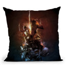 Heaven Throw Pillow By Mario Sanchez