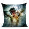 How To Disappear Completely Throw Pillow By Mario Sanchez