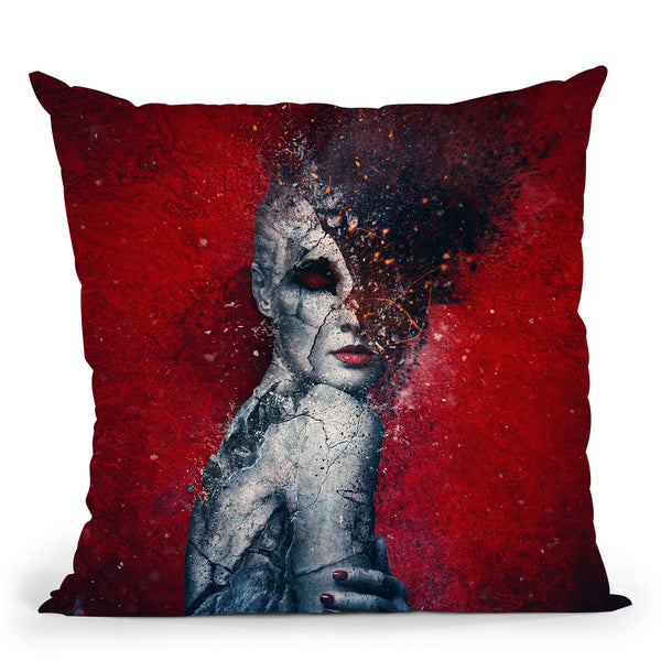 I Break Throw Pillow By Mario Sanchez