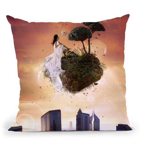 Analog Park Throw Pillow By Mario Sanchez