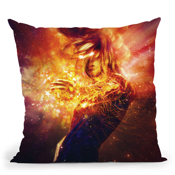 Invisible Throw Pillow By Mario Sanchez
