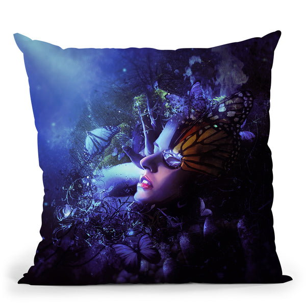 Ive Put A Spell On You Throw Pillow By Mario Sanchez