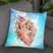Medea Throw Pillow By Mario Sanchez