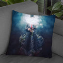 Nirvana Throw Pillow By Mario Sanchez