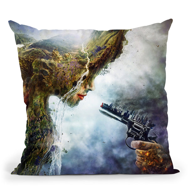 Betrayal Throw Pillow By Mario Sanchez