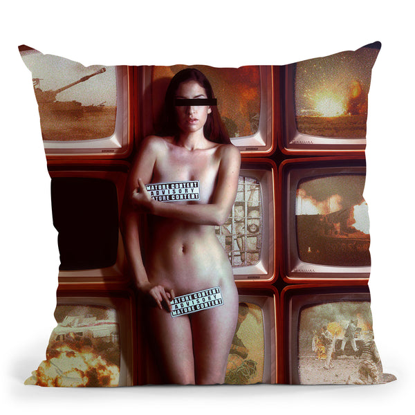 Protection Throw Pillow By Mario Sanchez