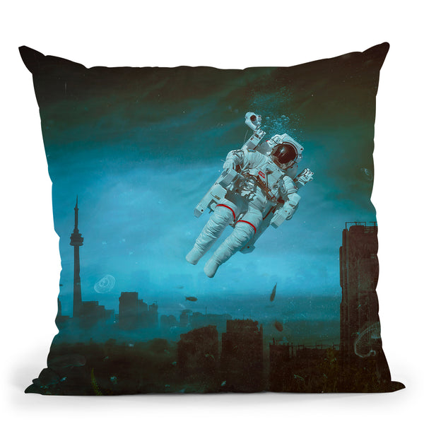 Sleepless Throw Pillow By Mario Sanchez