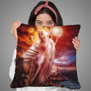 Sometimes Throw Pillow By Mario Sanchez