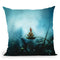 Tears Throw Pillow By Mario Sanchez