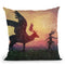 Temporary Peace Throw Pillow By Mario Sanchez