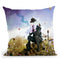 The Strange Blind Throw Pillow By Mario Sanchez