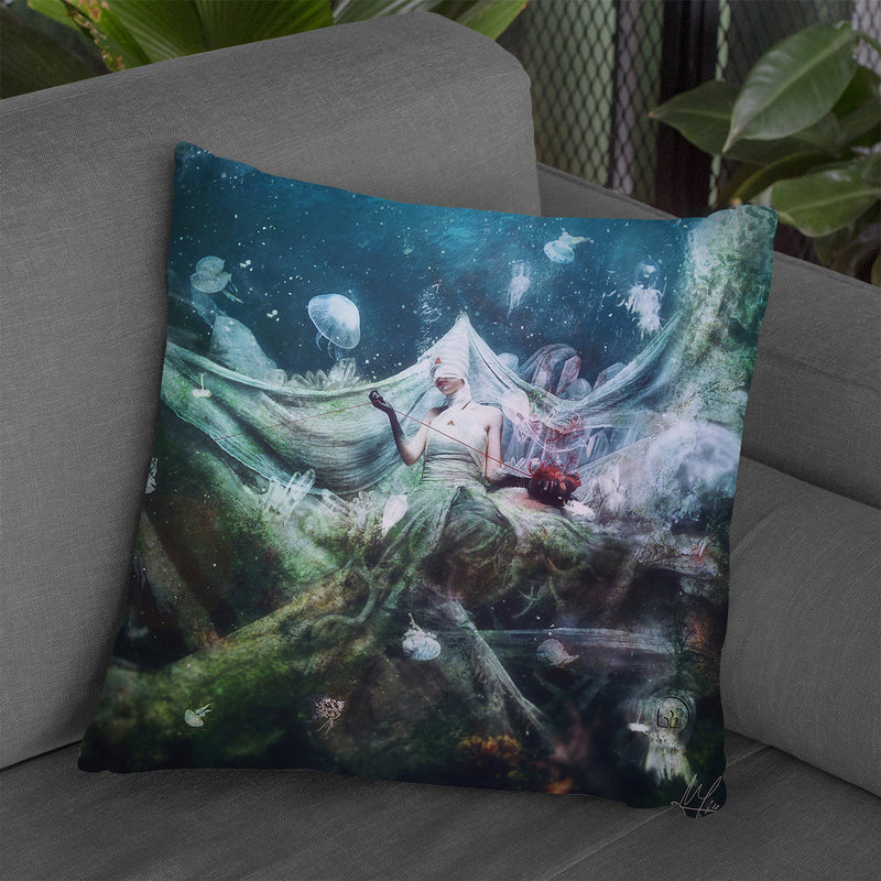 Uncertain Fate Throw Pillow By Mario Sanchez