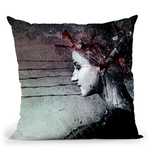 Vulnicura Throw Pillow By Mario Sanchez