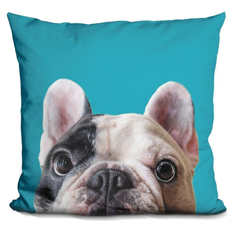 Manny The Frenchie Pillow