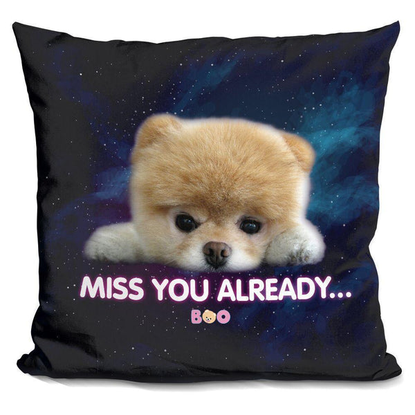 Boo Miss You Already Too Throw Pillow