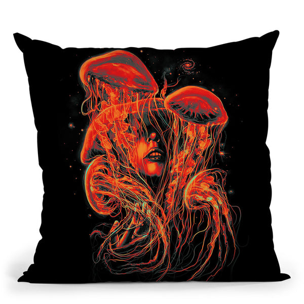 A Beutiful Delusion Throw Pillow By Nicebleed
