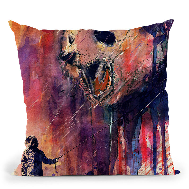 Out To Play Throw Pillow By Nicebleed