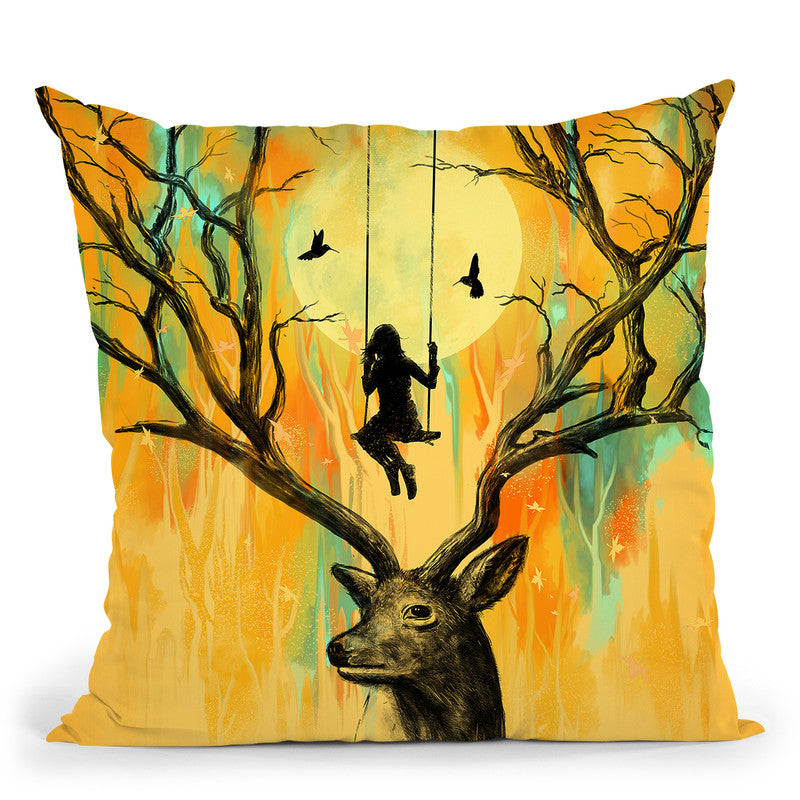 Playmate Throw Pillow By Nicebleed